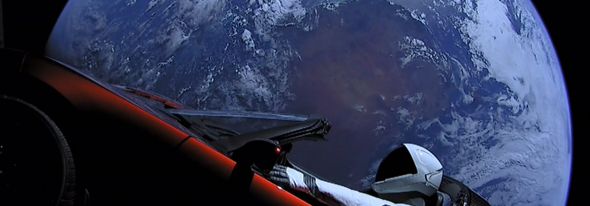 By SpaceX - Falcon Heavy Demo Mission, CC0, https://commons.wikimedia.org/w/index.php?curid=66235869