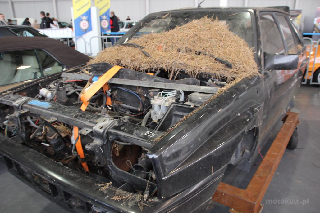 Lancia Delta Integrale baza do renowacji